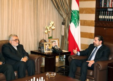 Lebanese Premier Calls for Closer Cooperation