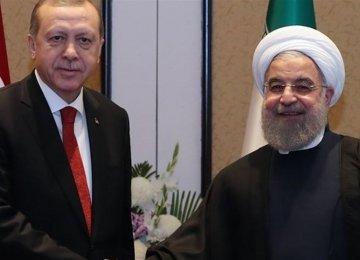 Rouhani, Erdogan Discuss Syria