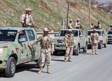 Security Forces Arrest Four IS Members