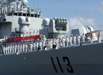 Chinese Navy Fleet to Visit