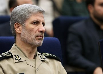 Defense Chief Pledges Full Support for IRGC