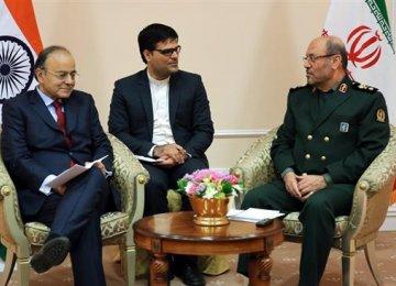 Defense Cooperation Discussed With India