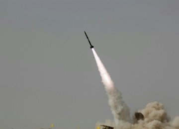 Various Missiles Fired in Army Drills