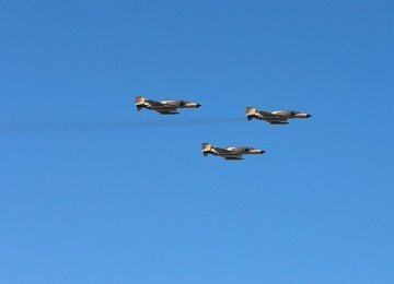 Fighter Jets Join Caspian Naval Drill