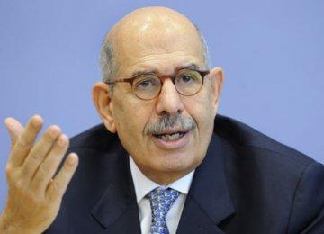 Ex-IAEA Chief Warns Arabs Against Rising Hostilities