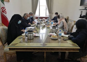 UN Envoy Discusses Afghanistan With Iranian Officials