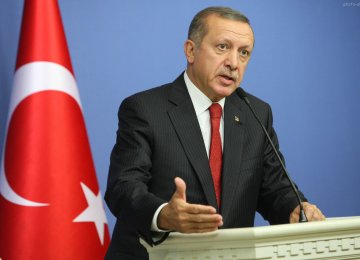 Erdogan Says No Solution to ME Conflicts Without Iran