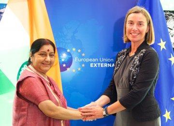 India, EU Discuss JCPOA