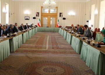 Iran, EU Hold 'Positive' Discussions