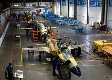 Production Line of Local Fighter Jet Launched