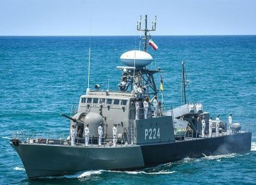 Naval Flotilla on Way to Gulf of Aden