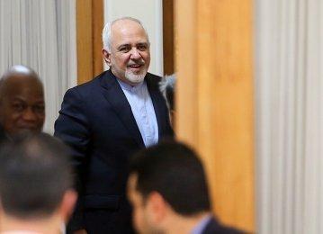 Iran FM Attends Afghan Peace Talks in Geneva