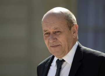 French FM to Visit Next Week