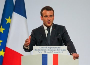 "France ""Taking Action"" on Iran's Missiles"