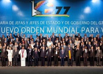 G-77 Backs Iran Nuclear Deal