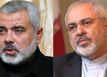 FM, Hamas Chief Talk on Phone