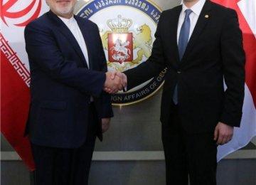 Iranian, Georgian FMs Discuss Ties