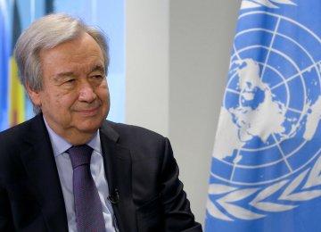 UN Chief Backs Nuclear Diplomacy
