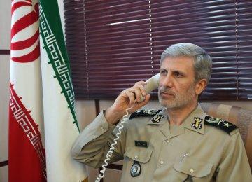 Iran, Afghan Defense Chiefs Talk