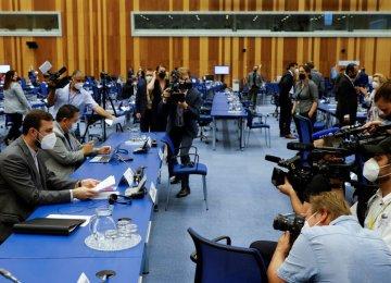 No Anti-Iran Resolution on Agenda at Board of Governors' Meeting