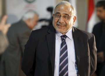 Iraqi Prime Minister Expected