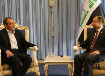 Iraqi Speaker Underlines Importance of Tehran Ties