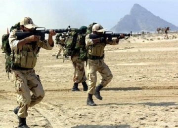 IRGC  Commandos Join  Rapid-Response  Unit