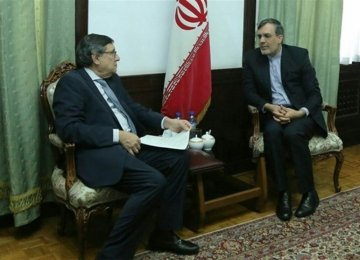 UN Official Meets Senior Diplomat in Tehran