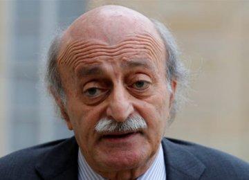 Jumblatt Urges Saudi-Iranian Dialogue