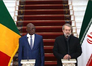 Iran, Mali Keen on Enhancing Relations