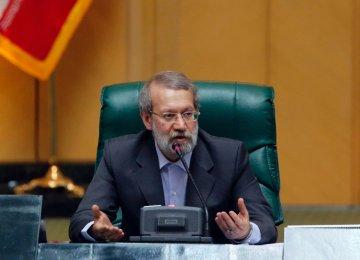 Larijani: Israel Mastermind of Syria War