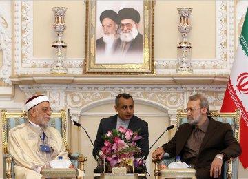 Larijani, Top African MPs Explore Enhanced Bilateral Interaction