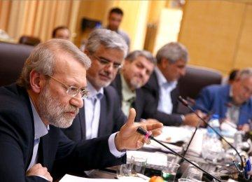 Larijani Says US Wants to Cripple Economy