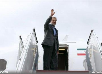 Larijani in Doha for IPU Meeting