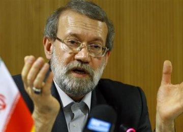 Larijani Addresses Eurasia Meeting