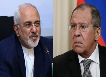 Lavrov, Zarif Discuss Syria, Caspian Sea Legal Regime