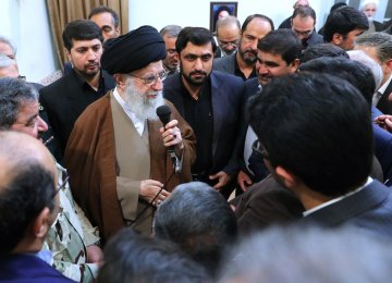 Leader Meets Civil Defense Officials
