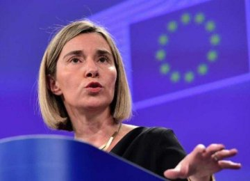 EU Calls on US to Show Restraint Over Iran