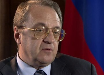 Moscow Welcomes Iran-Arab Dialogue