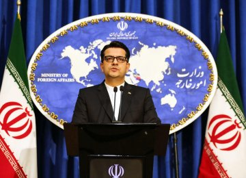 Iran Welcomes Defusion of Persian Gulf Tensions