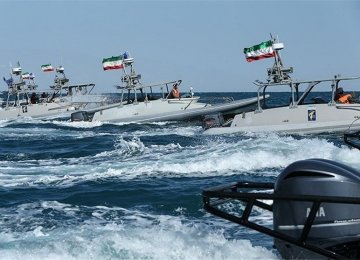 IRGC Confirms Naval Drills in Persian Gulf