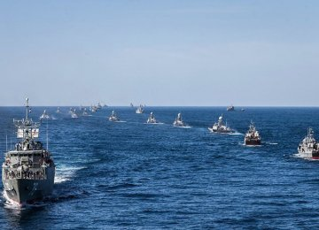 Massive Naval Drill Enters Final Stage