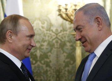Putin, Netanyahu to Discuss Iran