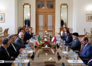 Oman's Top Diplomat in Iran for Talks Over Tanker Tensions