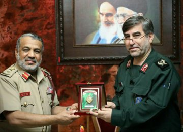 IRGC Medical Wing Willing to Share Experience With Oman