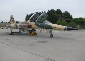 Repaired Mirage, F-5 Join  Air Force