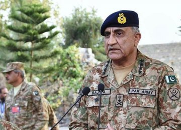 Pakistan's Top General in Tehran