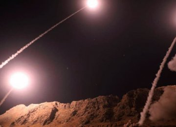 Pentagon Infuriated by IRGC's Missile Strike on Terrorists in Eastern Syria
