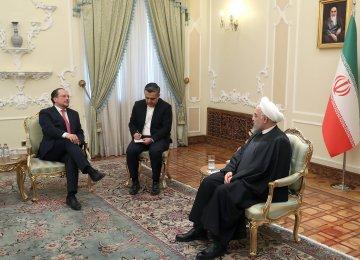 Austrian FM Highlights Role of JCPOA in Regional Stability
