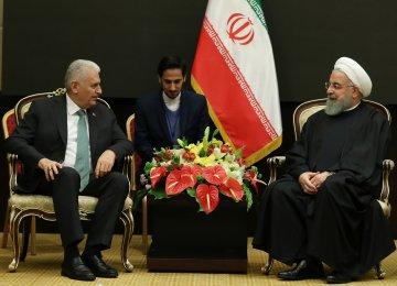 Rouhani Praises Turkey's Stance Against US Sanctions